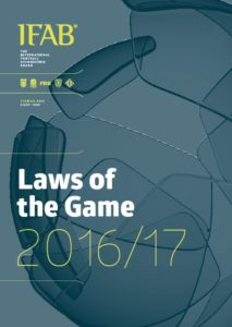 FIFA Laws of the Game 2016-2017 English