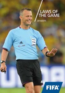 FIFA Reglas de Juego 2015 (Español).